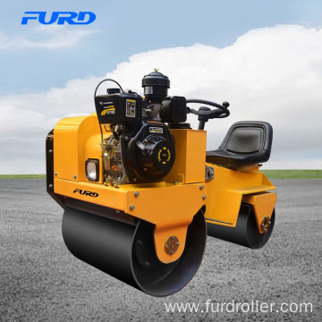 CE Diesel and Gasoline Engine Baby Road Roller Compactor