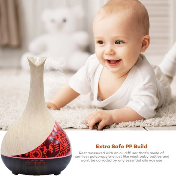 Smart Home Appliances Aroma Diffuser με νυχτερινό φως