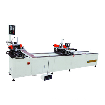 Double-head corner crimping machine