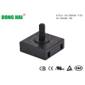 Square Black Long Life Rotary Switch
