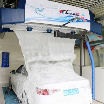 No brush automatic car wash machine leisuwash 360