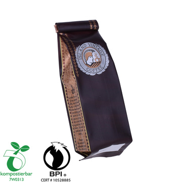 Eco friendly side gusset coffee valve bag