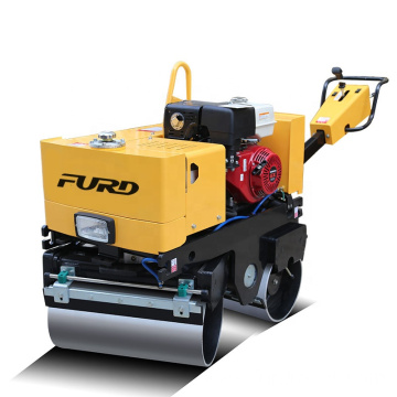 Small walking behind double drum compactor machine road roller FYL-800