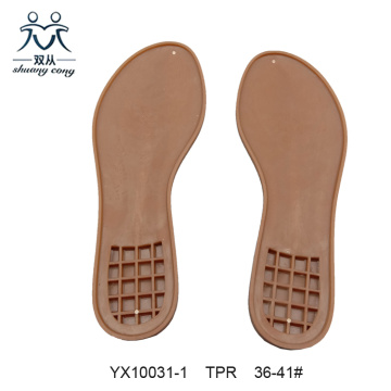 Woman TPR Flat Heel Sandals Sole