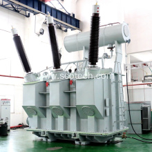60MVA 242/10.5KV 3 phase oil immersed power transformer