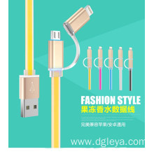 2 in 1 fashion style USB  cable