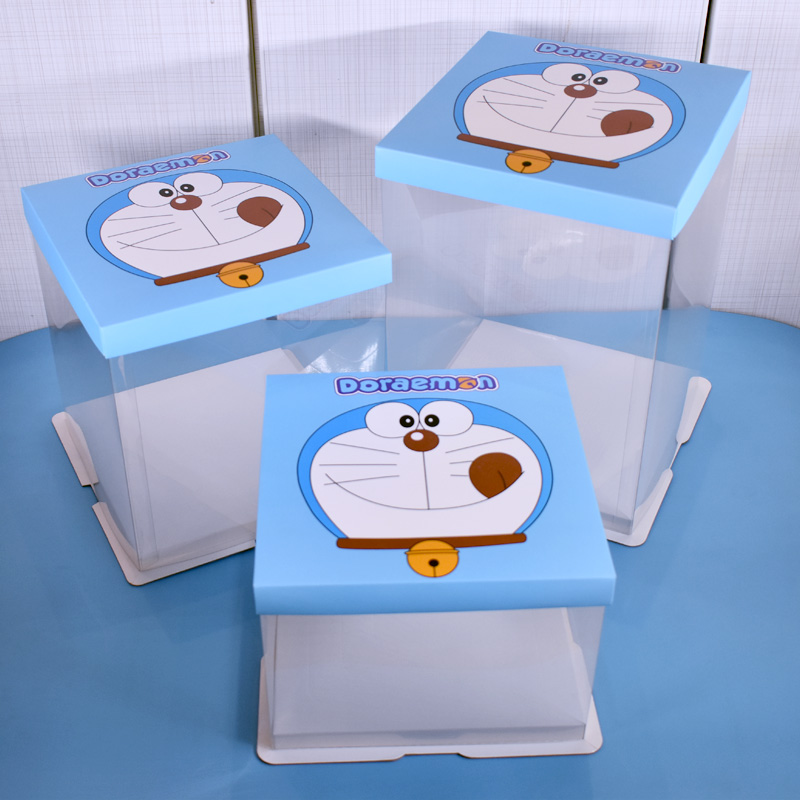 pvc packing box for cake