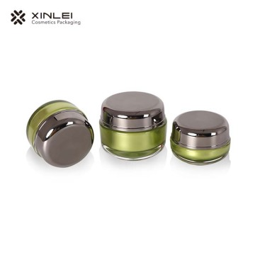 15 g Classic Round Shape cosmetic Acrylic Packaging