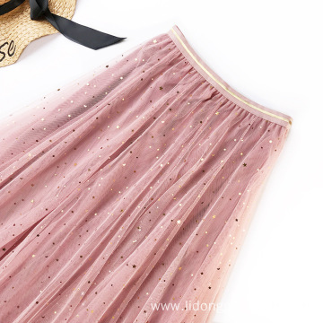 Women Elegant Half-length Skirt Slender A-tail Skirt
