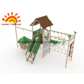 Outdoor climbing equipment structure