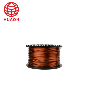 High temperature magnet aluminum wire