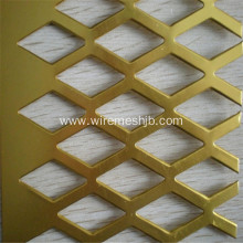 0.4mm Perforated Steel Sheet With Diamond Hole