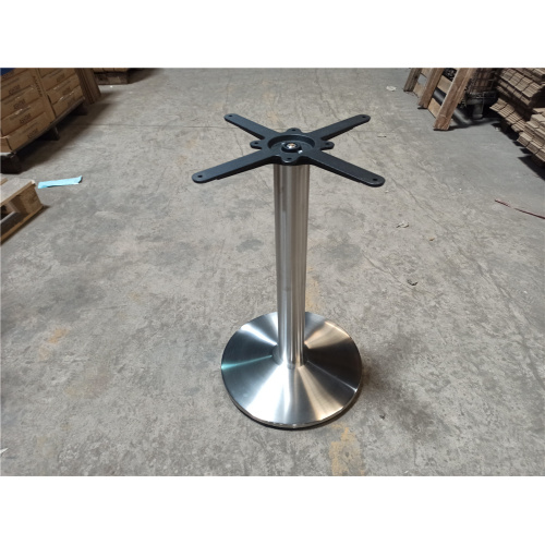 side table metal table frame for round table