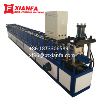 Aluminium Ridge Cap Roll Forming Machine