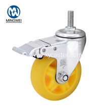 4 Inch Thread Stem Caster for Furniture