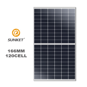 360W 166mm 9BB Half-cut Solar Cell PV module