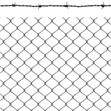Electric Gal Diamond chian link wire mesh/wire fencing
