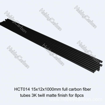 Professional custom made large diameter carbon fiber tube