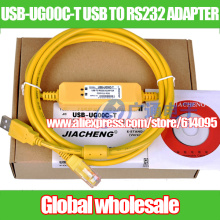 1pcs programming for Fuji UG series touch screen / data download cable USB-UG00C-T USB TO RS232 ADAPTER Electronic Data Systems