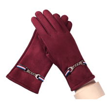 Suede Warm Screen Touch Leisure Autumn Winter Gloves
