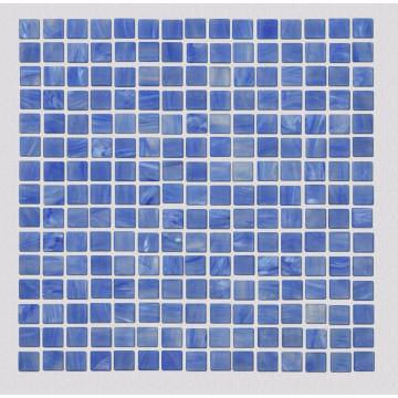 Hot Spring Spa Blue Glass Mosaic Wall Tiles