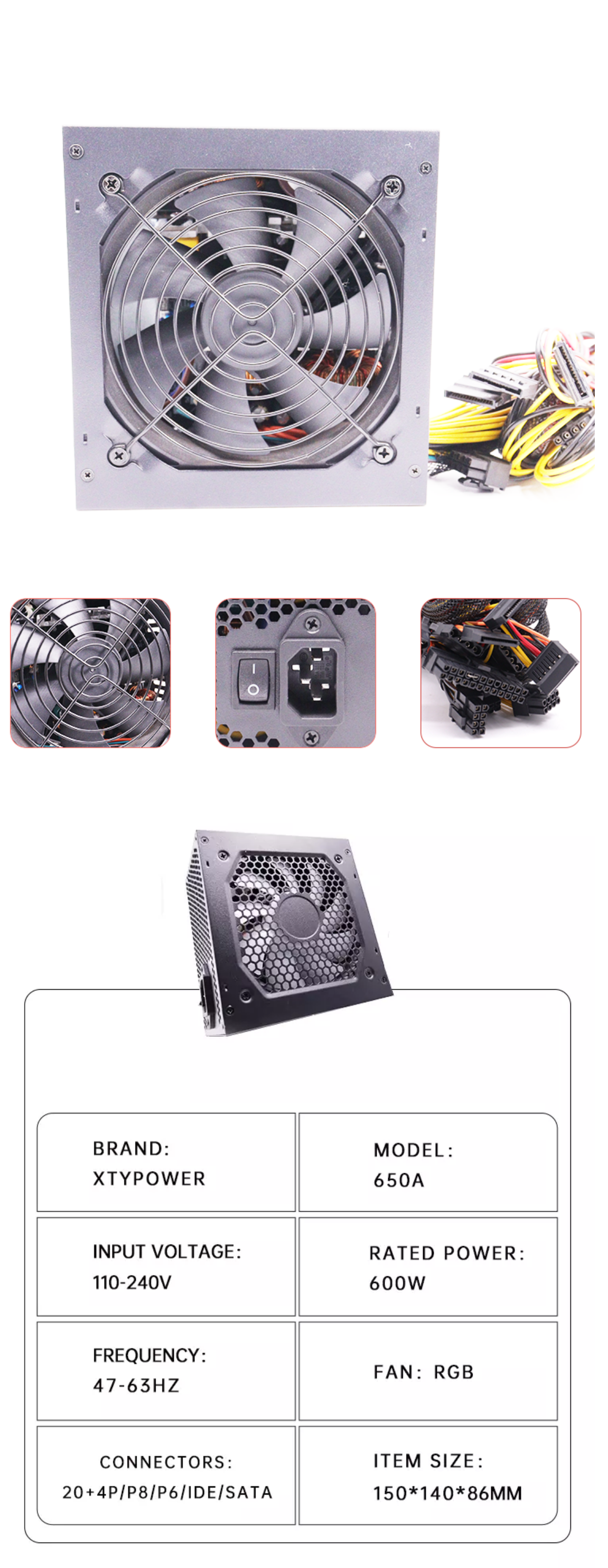 Gaming Pc Power Supply