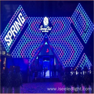 Durable outdoor full color DMX led linear tube