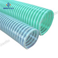 Corrugated outer surface PVC helix suction hose