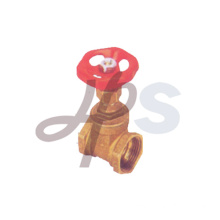 Hot sale steel handle brass gate valve