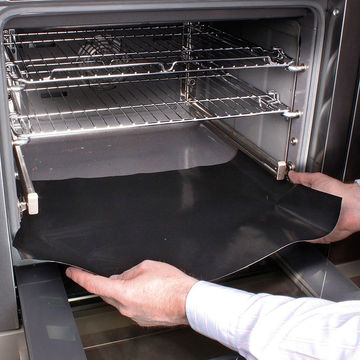 Extra Large Heavy Duty Reusable Non-Stick Oven Liner