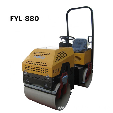 Philippines Hot Selling 1000kg Steel Drum Vibratory Double Roller