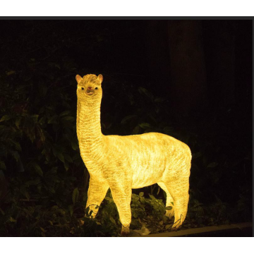 Simulated luminous small alpaca B Lights