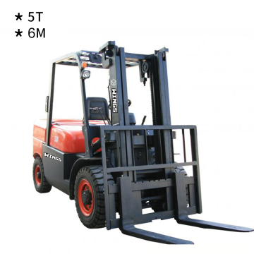 5 Tons Diesel Forklift (6-meter Lifting Height)