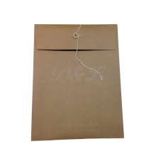 Wholesale A4 Kraft Paper Envelope with String