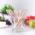 Disposable birch wood tableware