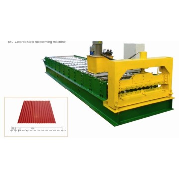 corrugated roof sheet machine with PLC