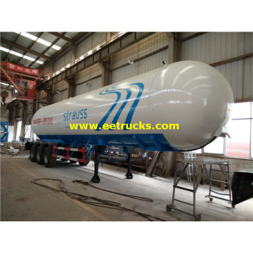 56cbm LPG Gas Delivery Tank Trailers