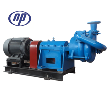 Electric filter press feed pump