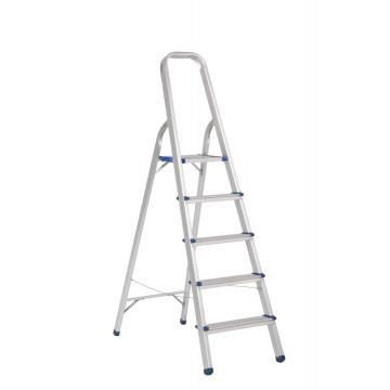 Aluminum household foldable step ladder