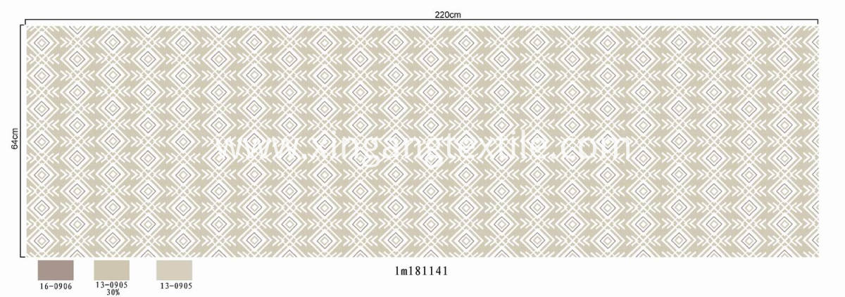 XINGANG BEDDING FABRIC (231)