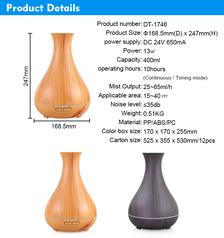 Amazon Ultrasonic Oil Diffuser
