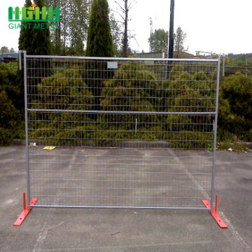 Galvanized Construction Site Temporary Fencing