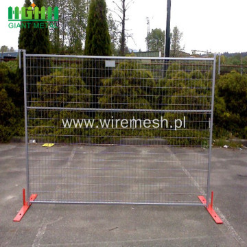 Strong PVC Coated Canada Temporary Fence for Sale