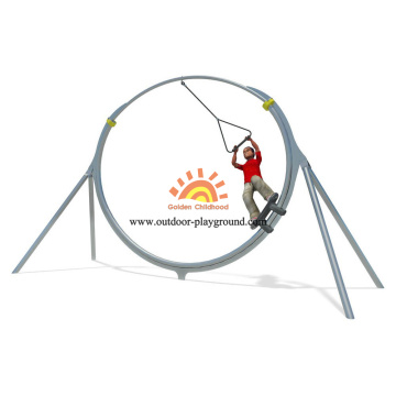 Steel Dynamic Sliding Round Playground Playground Equipment
