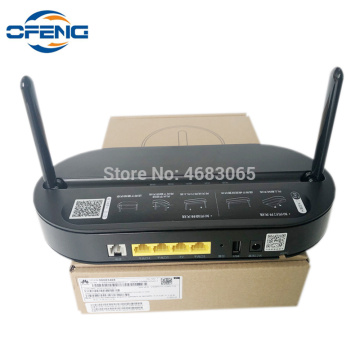 Original Huawei HS8145V 4GE + 1TEL + Dual Band WIFI 2.4G 5G GPON ONU fiber optic equipment work router English version