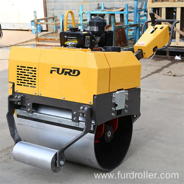 Gasoline Pedestrian Vibratory Hand Road Roller for Sale