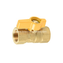 Forge Fip x Fip brass gas ball valve