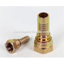 Fuel hydraulic hose swivel fitting