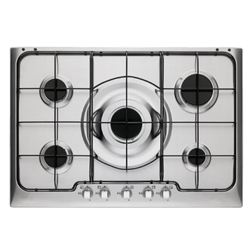 Electrolux Steel Hob 5 Rings in Italy