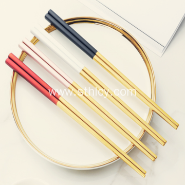 Stainless Steel Anti-Slip Chopsticks